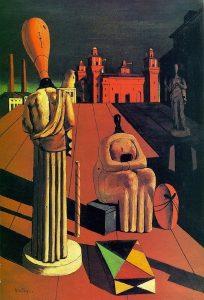 """The Disquieting Muses,"" Giorgio de Chirico"
