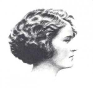 Zelda Fitzgerald in profile
