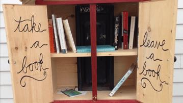 Take a book, leave a book