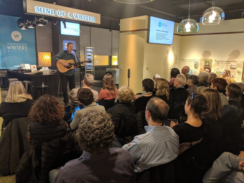 Robbie Fulks performs at the American Writers Museum