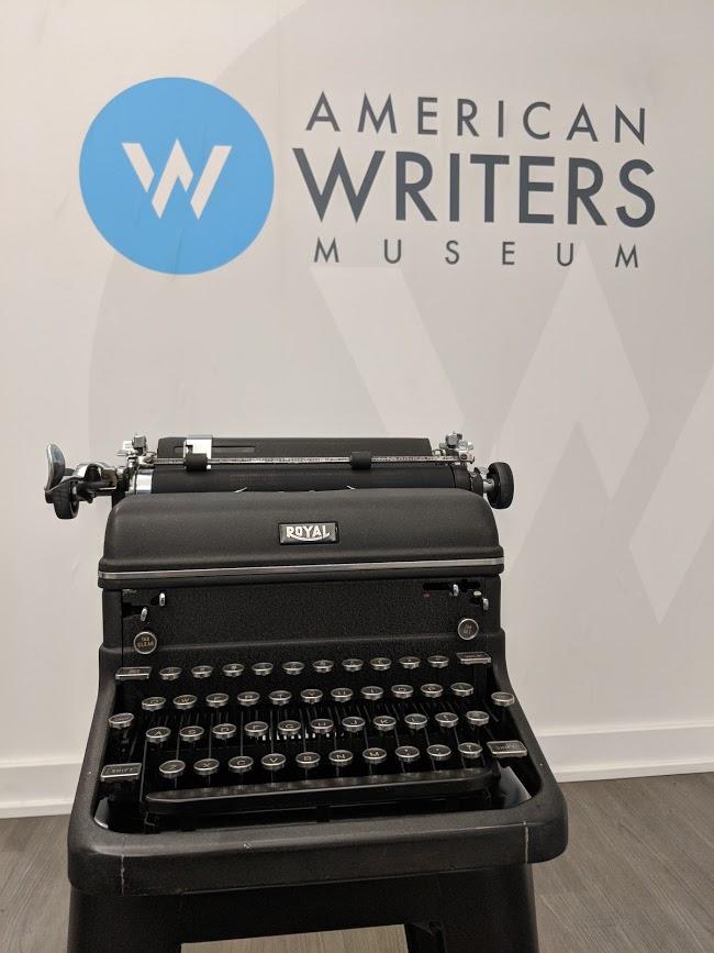 Ray Bradbury's typewriter will be on display at the American Writers Museum beginning June 22