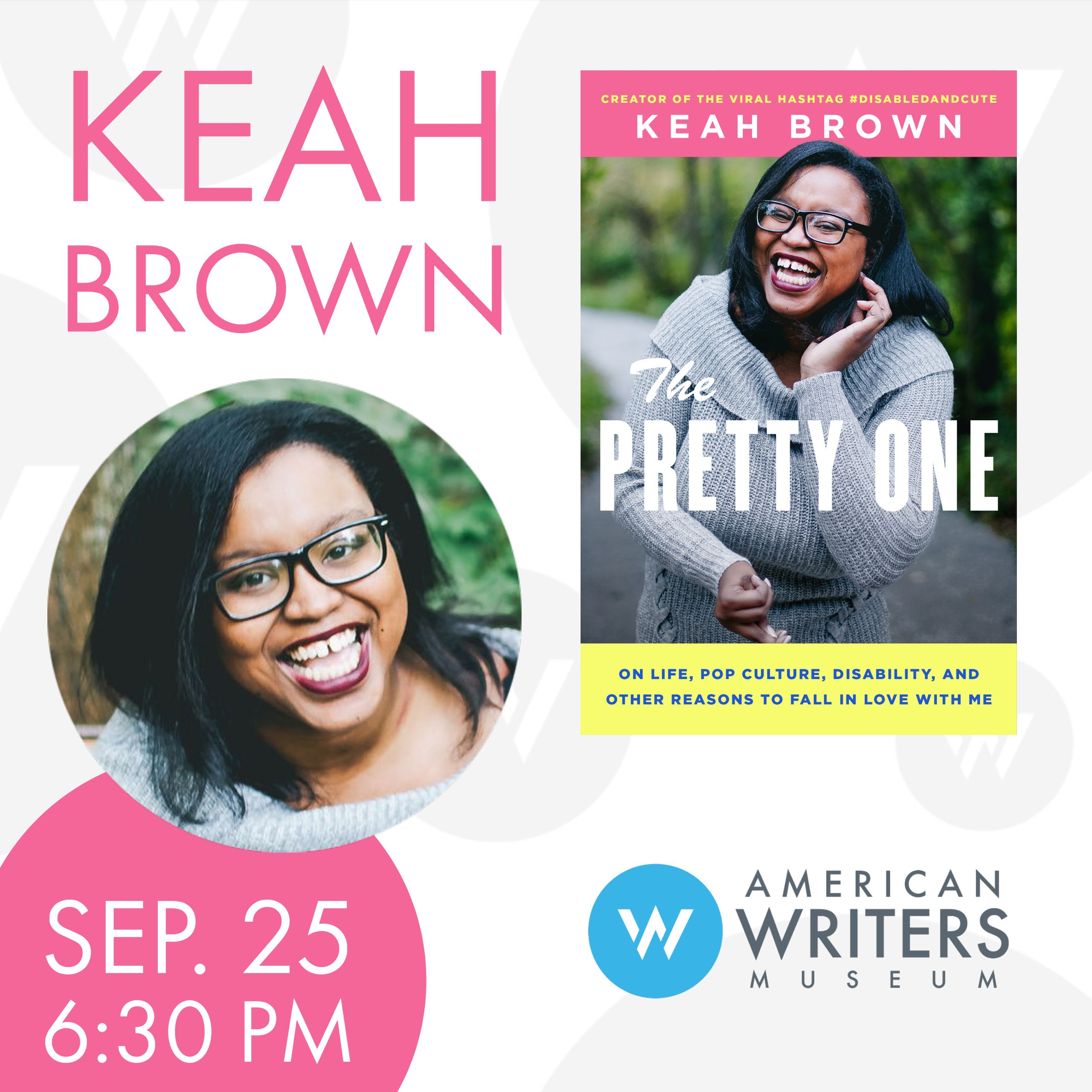 Keah Brown at the American Writers Museum on September 25