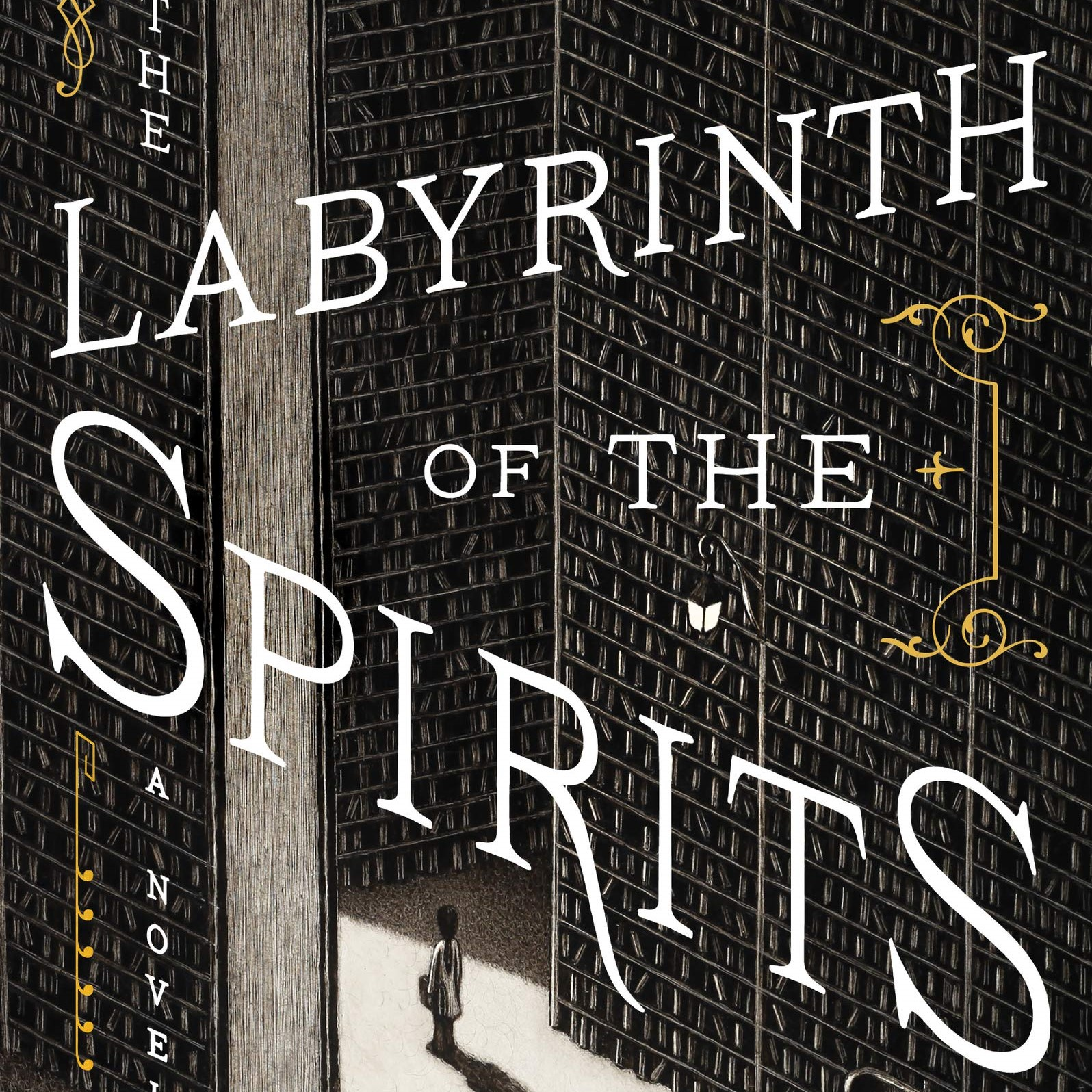 The Labyrinth of the Spirits cover image. Roll over for description.