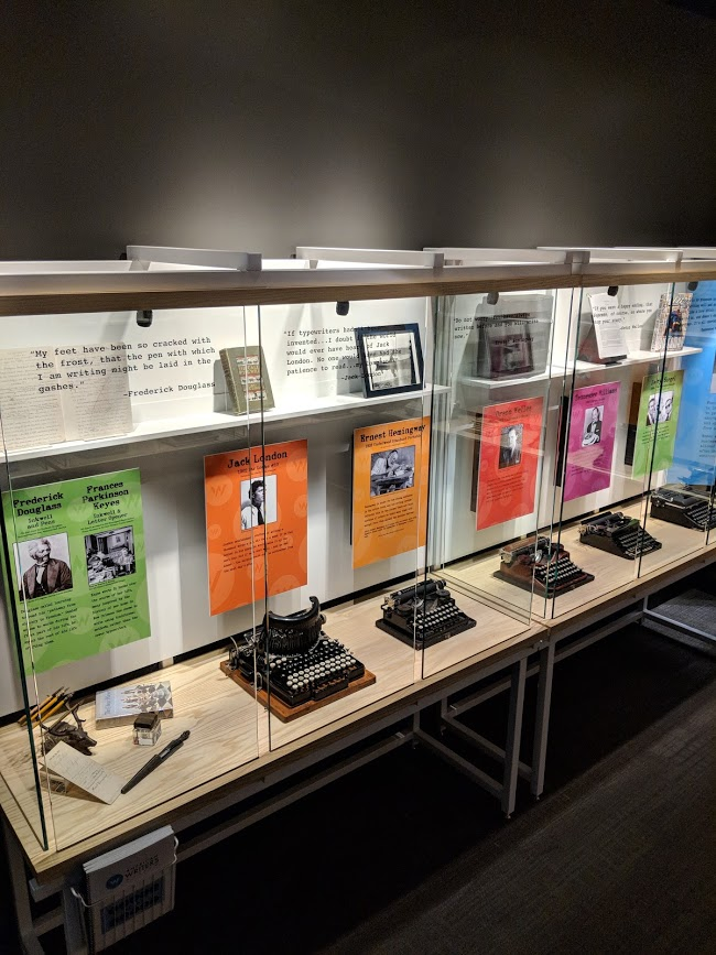 Tools of the Trade new exhibit explores writing practice through the ages at the American Writers Museum in Chicago