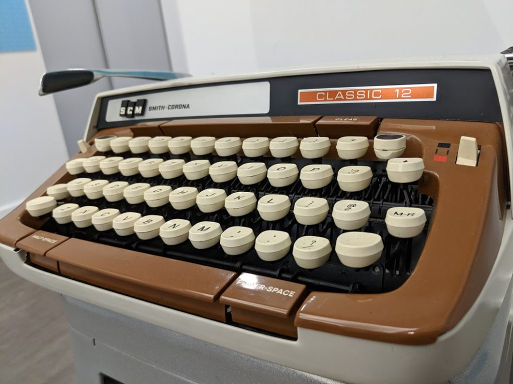 Gore Vidal's typewriter is now on display in Chicago at the American Writers Museum.
