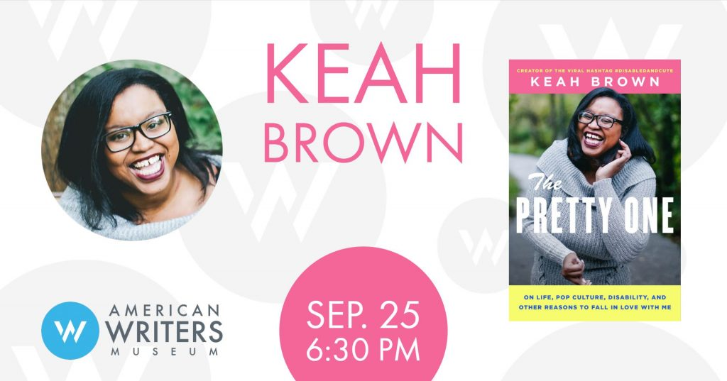 Keah Brown presents her new book The Pretty One at the American Writers Museum on September 25 in Chicago.