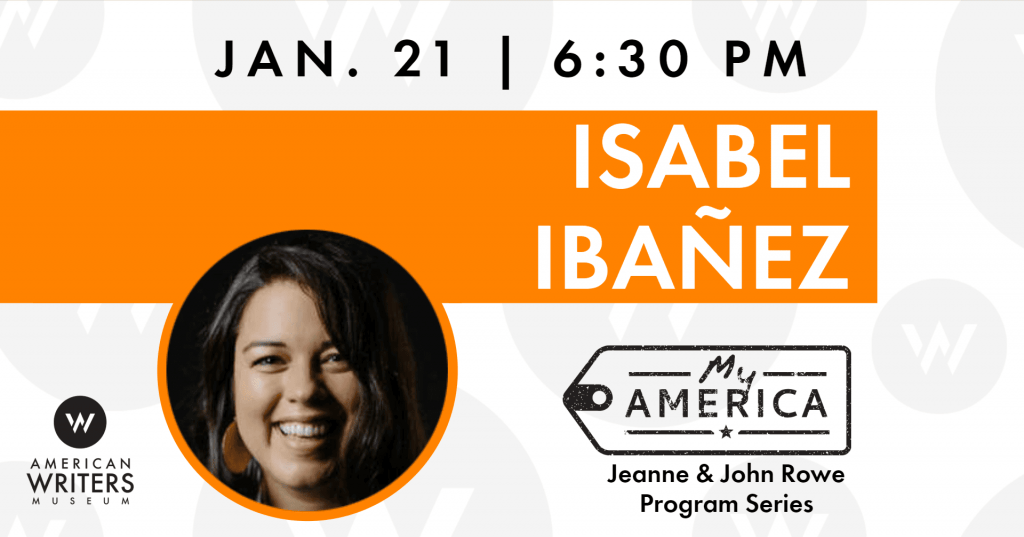 Isabel Ibañez book reading and signing at the American Writers Museum on January 21