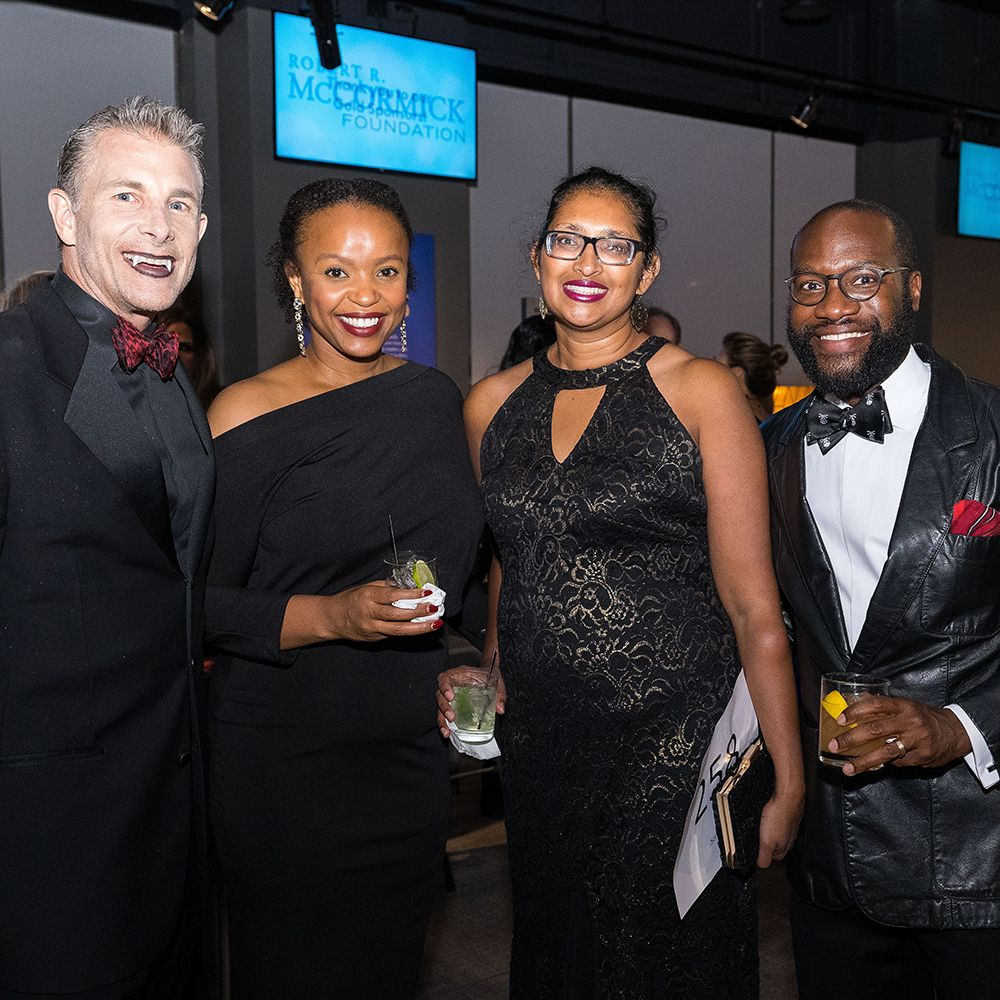 Guests at the Chicago Council of the AWM's annual fundraising event