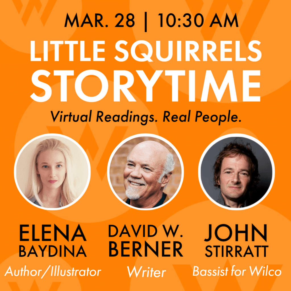 Virtual storytimes with the American Writers Museum