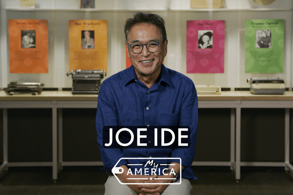 Joe Ide featured in the My America exhibit at the American Writers Museum