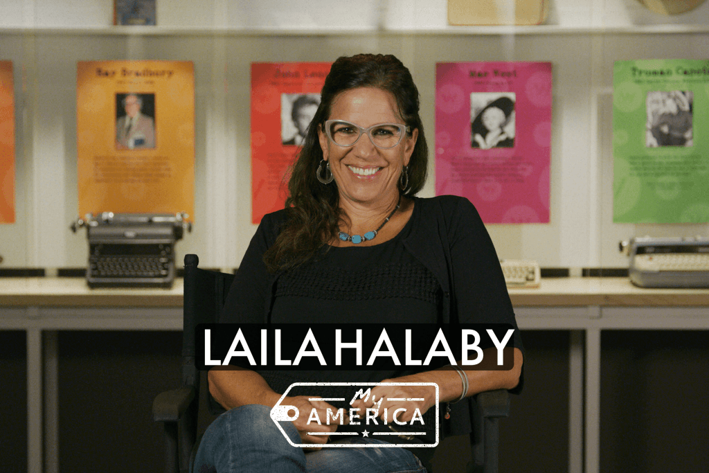 Laila Halaby featured in the American Writers Museum's exhibit My America