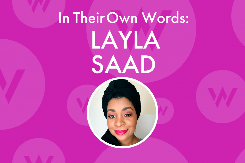 Layla Saad book reading and signing at the American Writers Museum on February 5