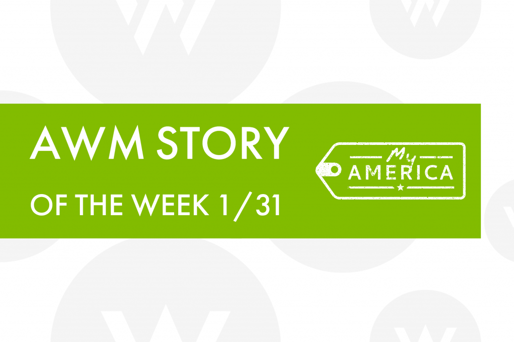 American Writers Museum Story of the Week 1/31/2020