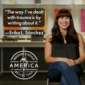 Erika L. Sánchez featured in the American Writers Museum's special exhibit My America