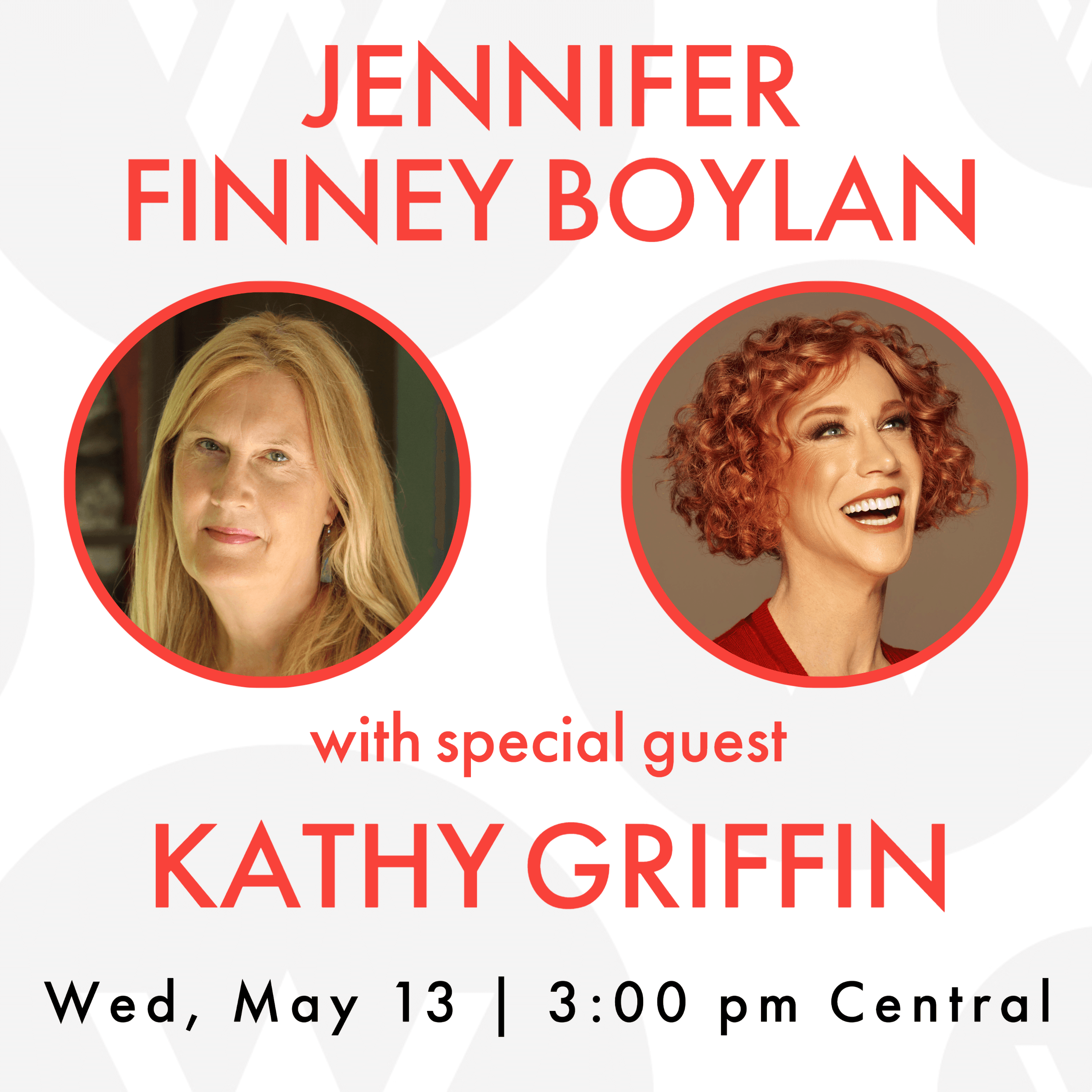 Jennifer Finney Boylan discusses their new book Good Boy with special guest Kathy Griffin