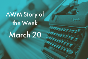American Writers Museum Story of the Week for March 20, 2020