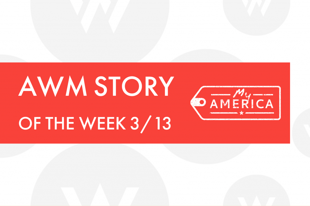 American Writers Museum Story of the Week blog post featuring visitor stories 3/13/2020