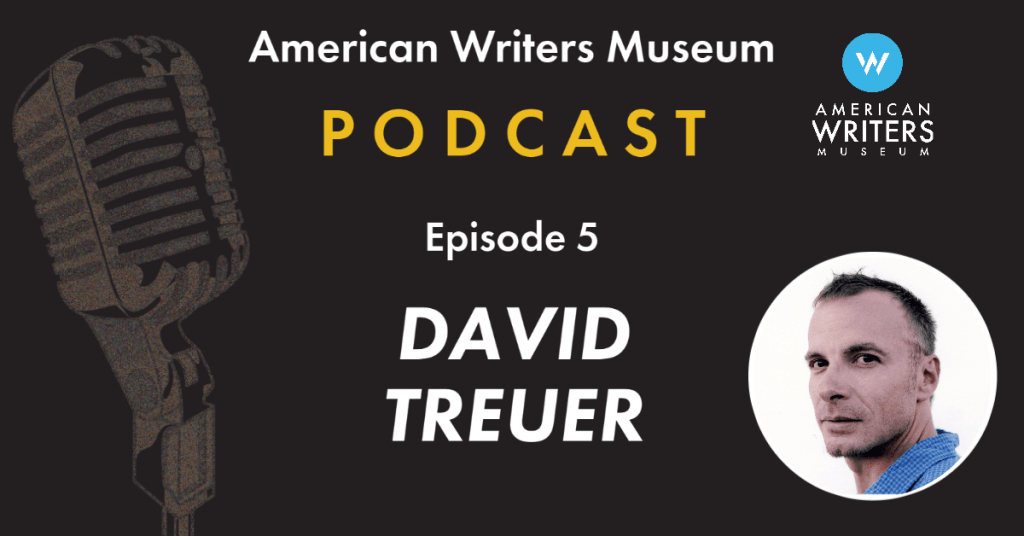 American Writers Museum podcast episode 5 with David Treuer