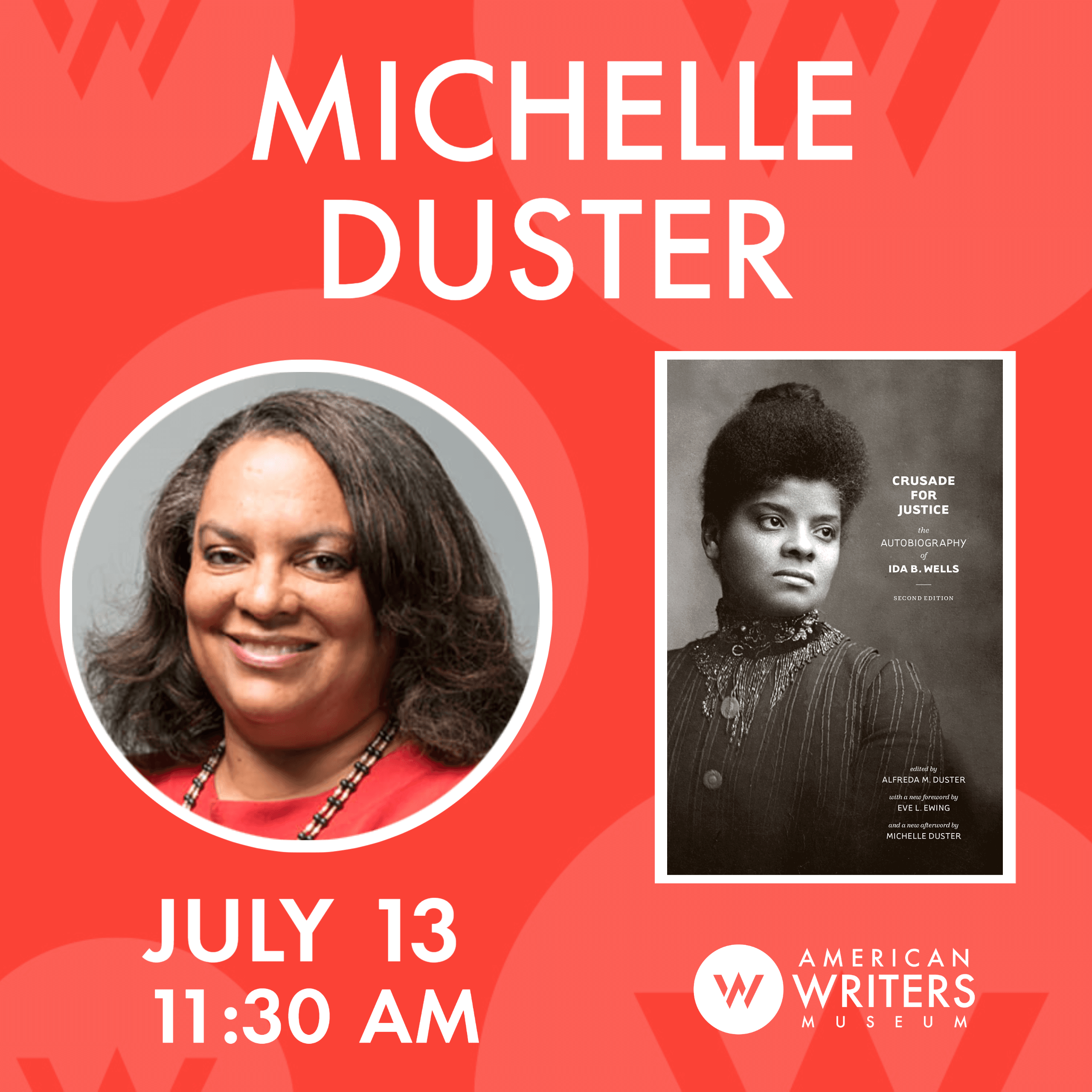 """Michelle Duster discusses """"Crusade for Justice: The Autobiography of Ida B. Wells"""""""