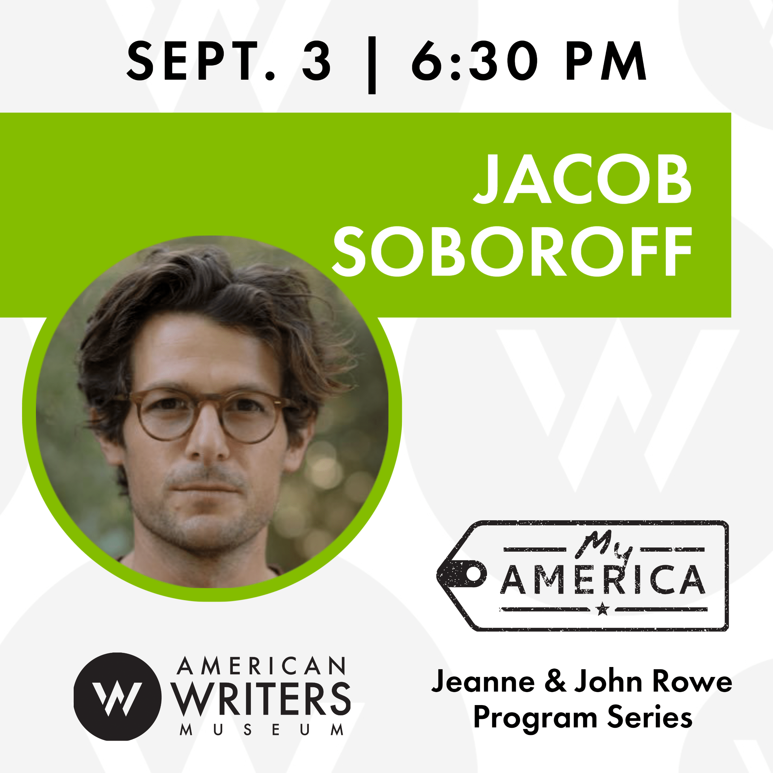 American Writers Museum presents a conversation with NBC correspondent Jacob Soboroff on his new book about the Trump administration's border policies