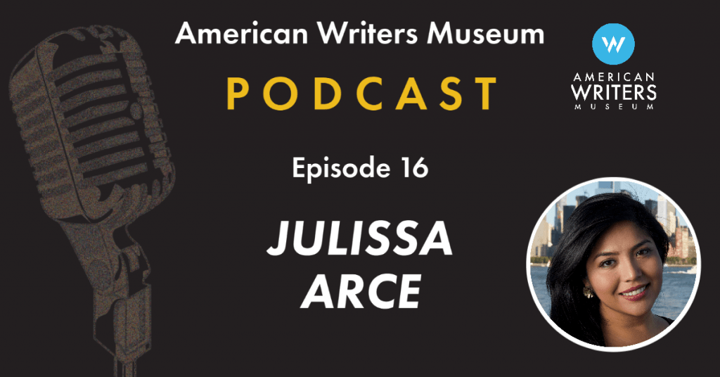 American Writers Museum podcast episode 16 with Julissa Arce
