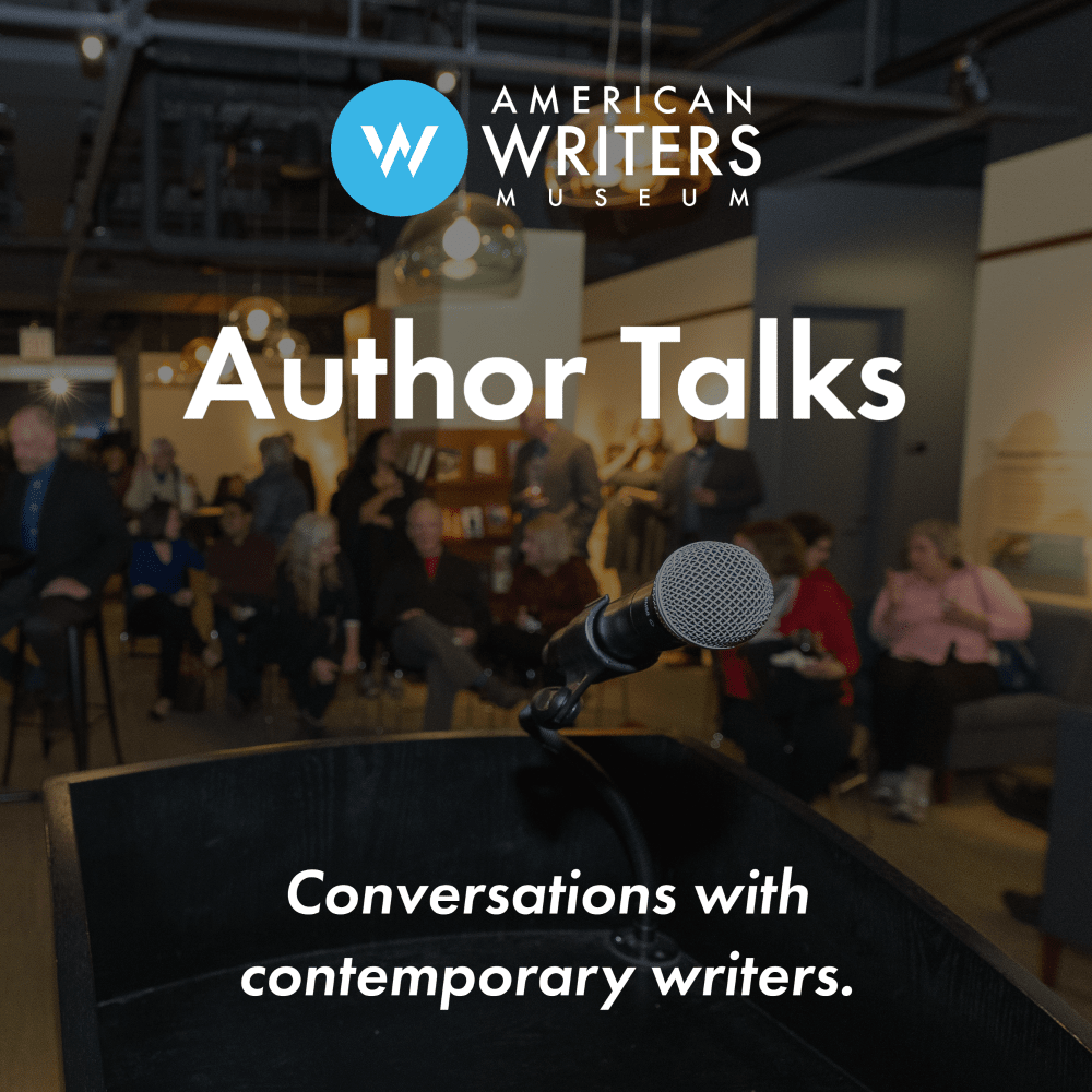AWM Author Talks podcast presented by the American Writers Museum