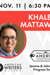 My America: Khaled Mattawa | AWM Author Talks