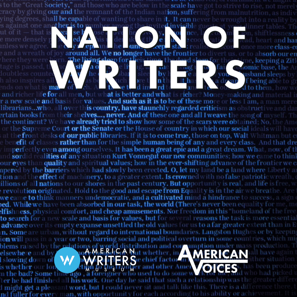 The Nation of Writers Podcast, presented by the American Writers Museum