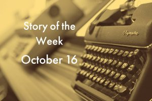 American Writers Museum Story of the Week for October 16, 2020