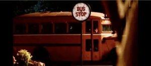 Halloweentown Bus stop