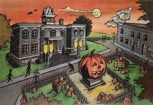 Halloweentown Town Square