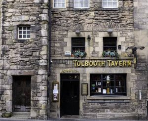 Grab a pint at the Tollbooth Tavern in downtown Brigadoon!